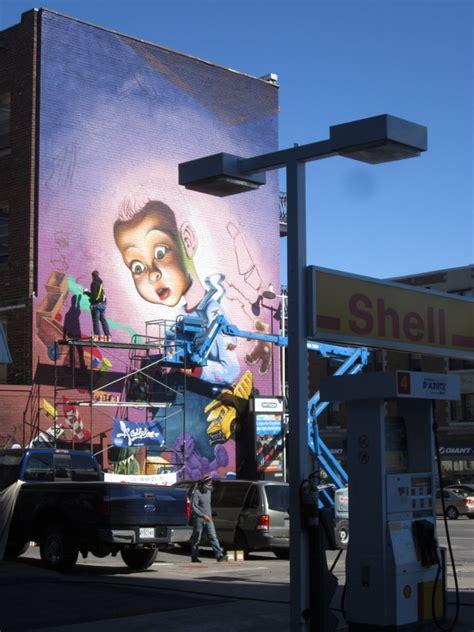 ashop mural  ndg bombing science