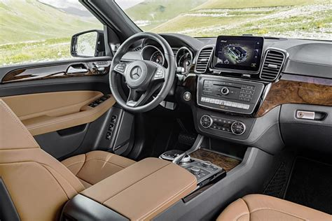 mercedes gls interior 2017 mercedes gls on road review we test the