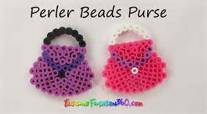 perler hama beads purse 2d mother s day gift how to