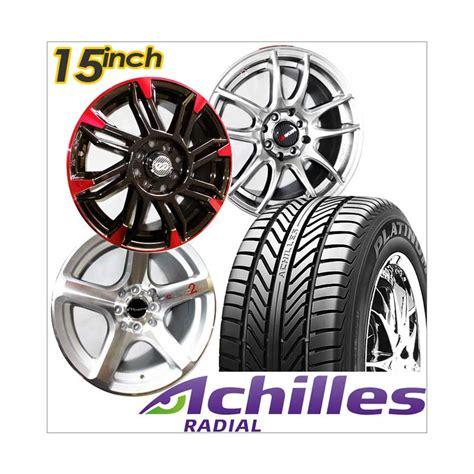 Paket Cicilan 4 Velg Racing 15 Inch 4 Ban 1856515 Achilles Jual Achilles Paket Cicilan 4 Velg Racing 15 Inch 4 Ban
