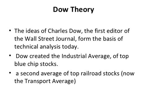 Blue Chip Mba by Technical Analysis Lecture Thursday Mba Class 2