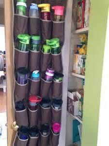 home storage solutions 101 water bottle storage organization ideas