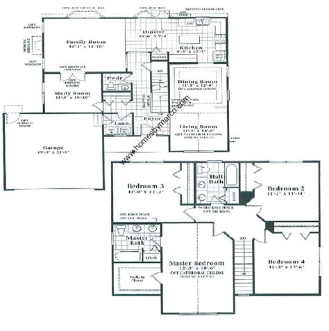 home floor plans models bayview model in the valley lakes subdivision in round