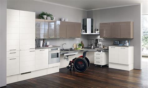 cucina disabili cucine per disabili e anziani scavolini utility system
