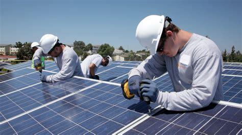 solar instalation the labor market the energy market and america s future solar tribune