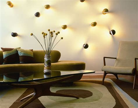mod home decor living room design with decorative lights karamila modern