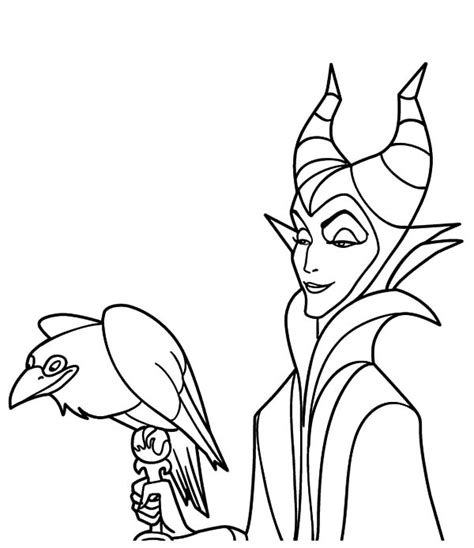 25 maleficent coloring pages coloringstar