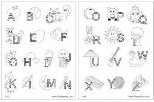 alphabet letters interlaced objects printable templates amp coloring pages firstpalette