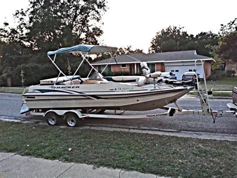 fish and ski boats dfw sun tracker party deck for sale