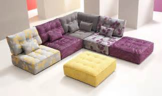 Living Room With Purple Sofa 20 Awesome Modular Sectional Sofa Designs