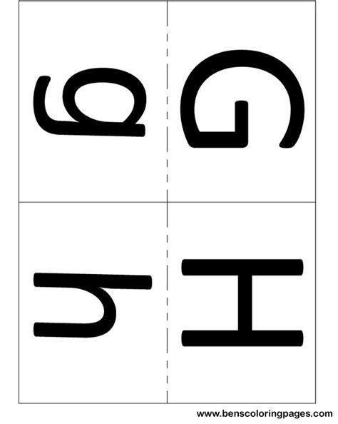 printable letters medium medium letters flashcards for kids