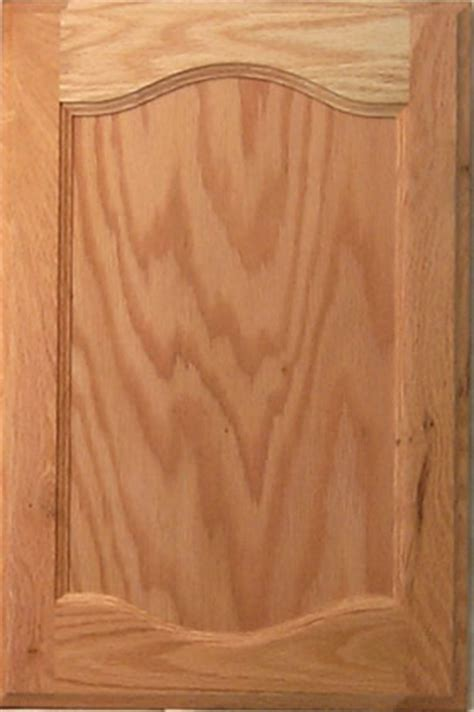 harvest flat panel cabinet door in cathedral style