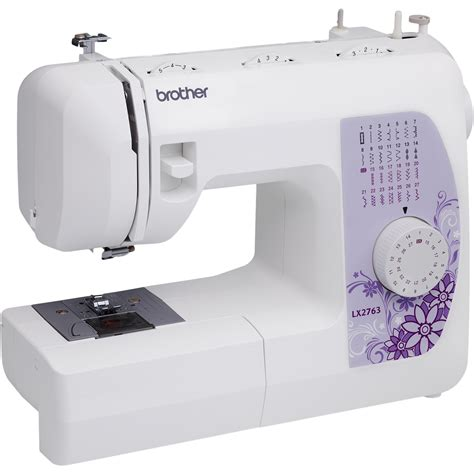 brother sewing machine brother 27 stitch sewing machine drop in bobbin portable