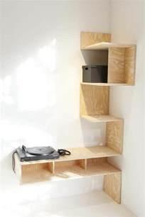 Formidable Etagere Pour Plantes D Interieur #1: idee-pour-votre-etagere-leroy-merlin-étagères-d-angle-en-bois-clair-design.jpg