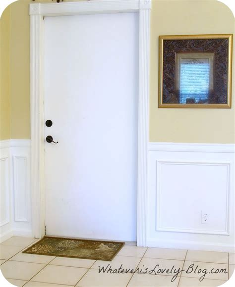 Faux Wainscoting by Diy Faux Wainscoting Hometalk