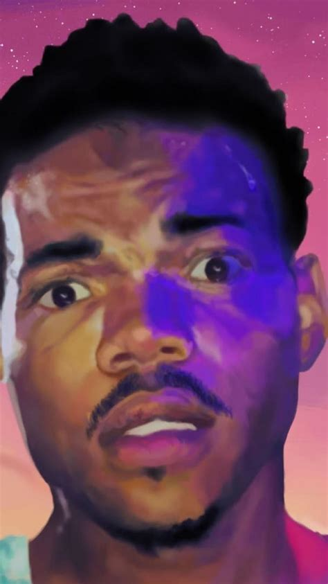 Chance The Rapper Acid Rap Iphone Wallpaper
