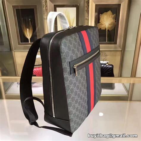 Kaos Gucci Premium Quality best quality cheap discount gucci mens gg supreme backpack 478324 on sale