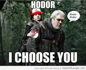 Hodor Meme - what if hodor was a pokemon game of laughs