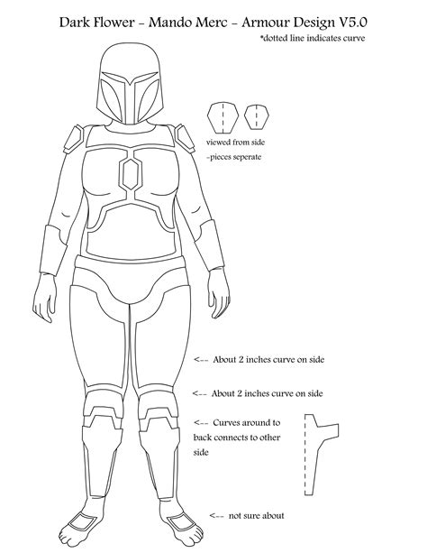 the gallery for gt mandalorian armor template