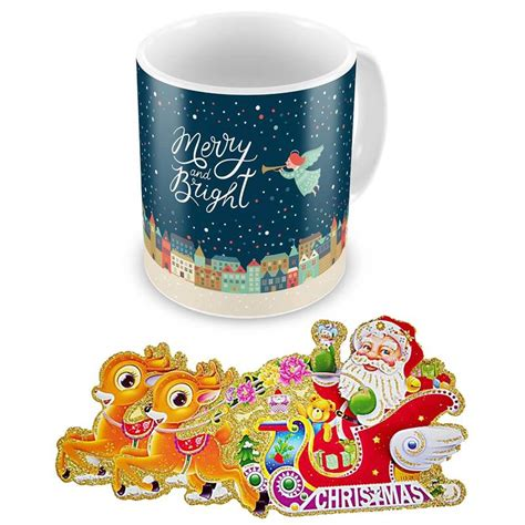 design own mug india buy merry n bright quote printed design coffee mug online