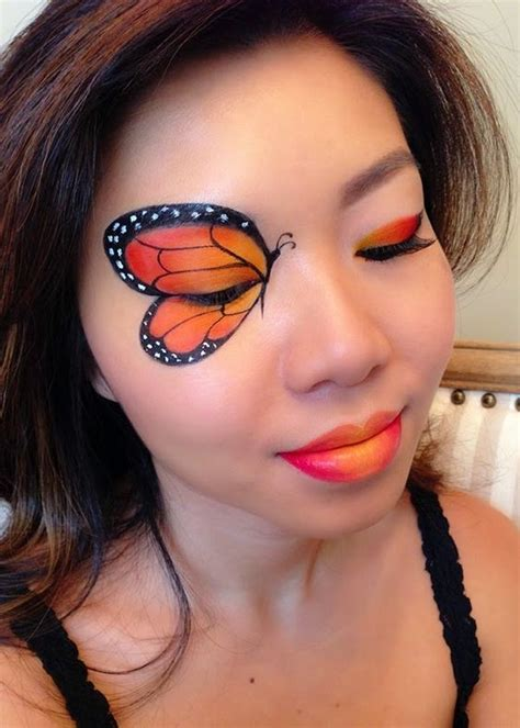 monarch butterfly amazing animal makeup