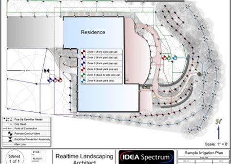 irrigation layout software free landscape design software gallery