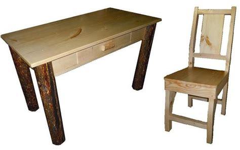 pine student desk bradley s furniture etc utah rustic office and student