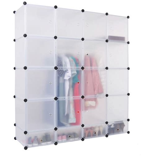 plastic armoire plastic portable wardrobe closet armoire with doors buy