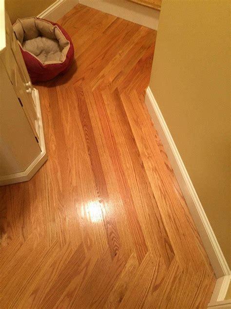 Wood direction change in hallway   Wood Floors   Pinterest