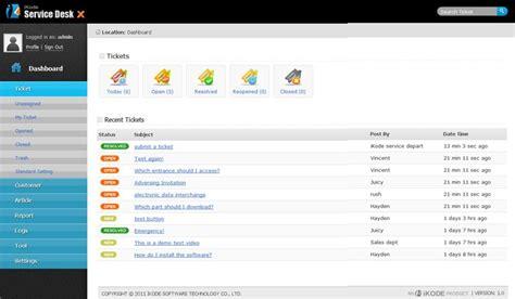 free service desk software itil sharepoint service desk software