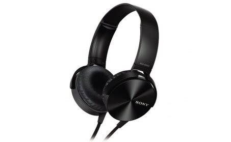 Headphone Sony Xb 450 Sony Mdr Xb 450 Black Headphone Check Review