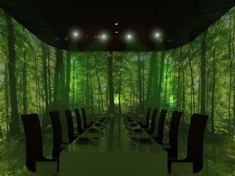 3d Room Escape ultraviolet restaurant by paul pairet in shanghai 171 marc a