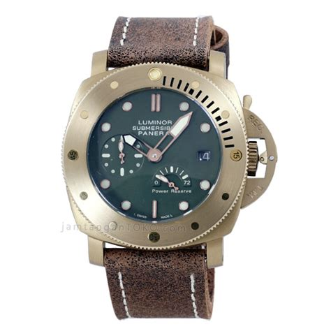 Jam Tangan Pria Panerai Luminor Submersible 1950 Bronzo Pam 382 harga sarap jam tangan panerai luminor submersible 1950 bronzo pam00507