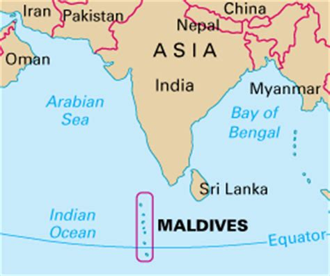 maldives is in which country map geography of maldives howstuffworks