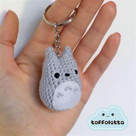 amigurumi pattern keychain mini totoro keychain amigurumi crochet art keychains