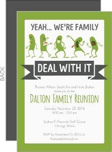 printable family reunion invitation cards cheap custom reunion invitations inviteshop