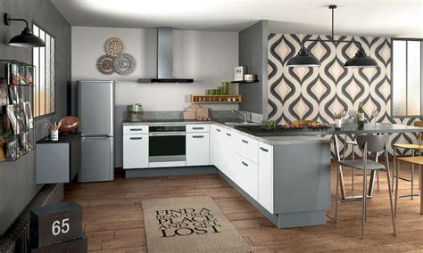 Cuisine Aménagée Avec Ilot Central Ikea by Cuisine Une Cuisine Pas Ch 195 168 Re Les Solutions Inspiration