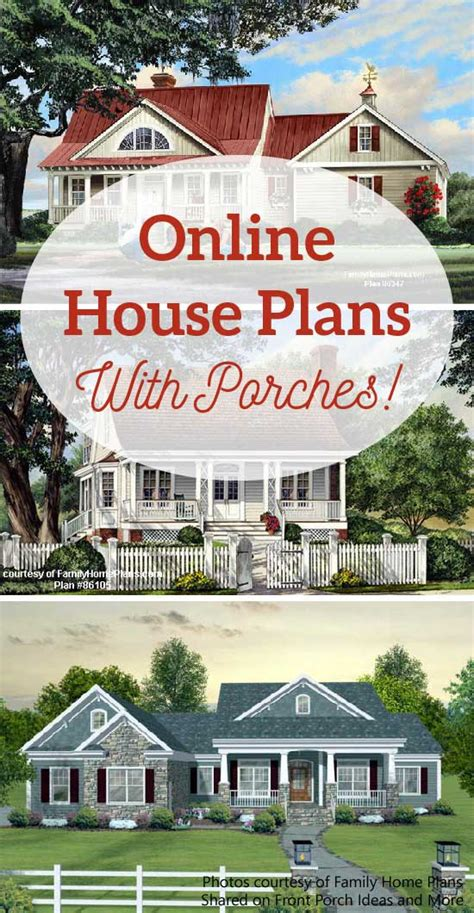 online home builder house plans online with porches house building plans