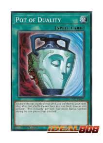 Kartu Yugioh Pot Of Duality Common pot of duality ys17 en028 common 1st edition yugioh singles 187 starter deck cards vrains