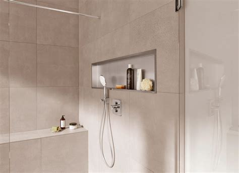 bathroom in a box container box shower niches easy and quick to install