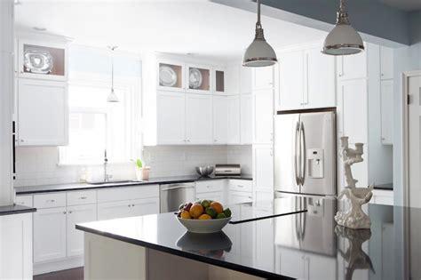 Kitchen White Quartz Countertop by Black Quartz Countertops Cottage Kitchen Beth