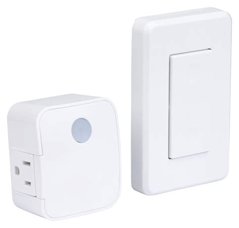 wireless light switch westek rfk1600 lc indoor wireless switch 1 outlet