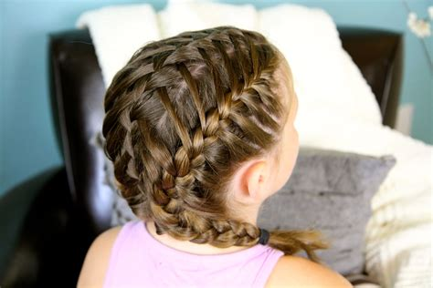 Small French Braid Styles | french braids cute girls hairstyles page 3