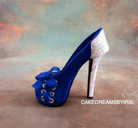beautiful sugar shoe fondant gumpaste shoe cakes