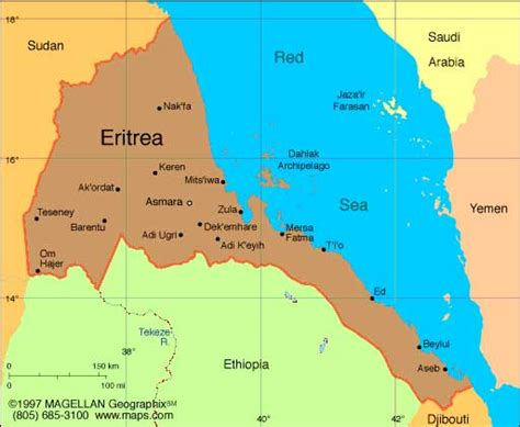 eritrea map eritrea africa business directory and news