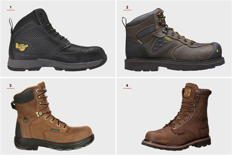 best work boots 12 best steel toe work boots for hiconsumption
