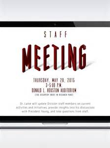flyer announcement template staff meeting announcement template topp