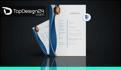 Bewerbung Layout Grafik Design Bewerbung Designvorlagen Topdesign24 Bewerbungsvorlagen