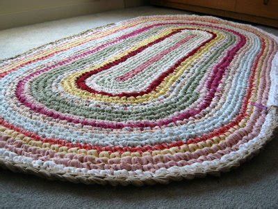 how to crochet a rag rug step by step how to crochet with fabric strips the crafty mummy