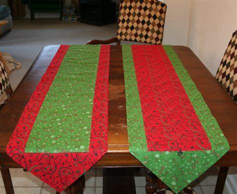 easy table runner 10 minute table runner 171 no cape